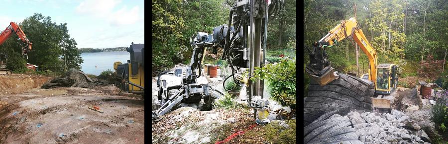 bergspräckning-kollage-maskiner-schakt